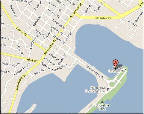 San Diego Boat Tours Location