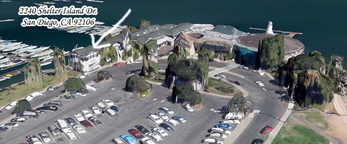 Sa Diego Boat Tours location