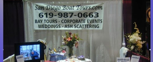 San Diego Boat Tours @ Kiss the Bride Bridal show