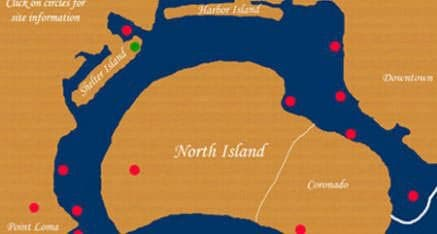 San Diego Boat Tours - Route Map