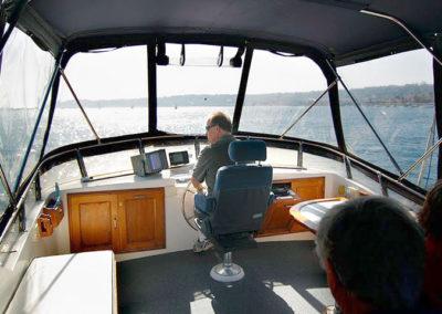 Yacht Fly-Bridge