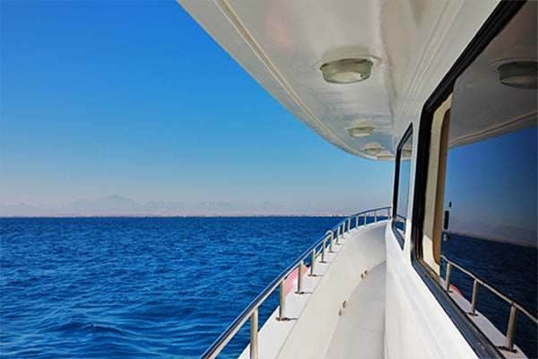 Charter Yacht on the Ocean - We have several charter yachts for your selection