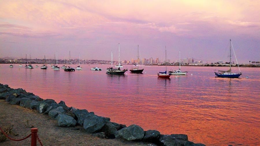 Sunset - San Diego Bay