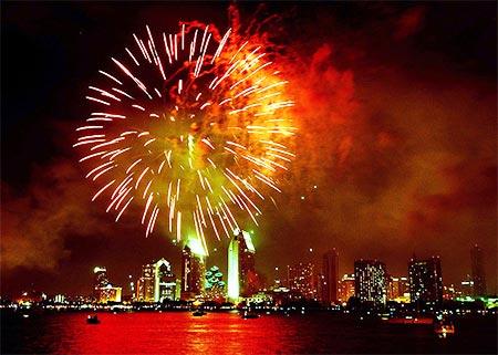 San Diego July 4 Fireworks