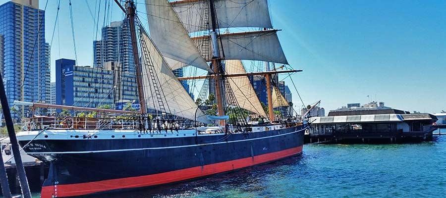 Star of India Tall Ship in San Diego