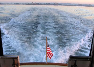 Ocean Spirit - Stern View