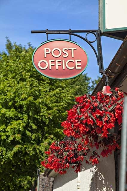 Post Office for Mailing Cremains