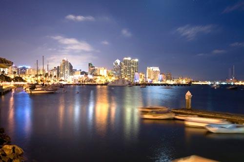 San Diego Downtown Night