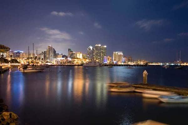 San Diego Bay Night Harbor Charter
